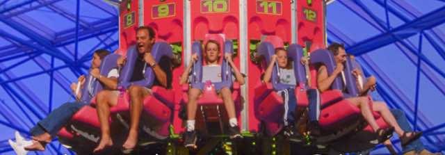 AdventureDome Rollercoaster
