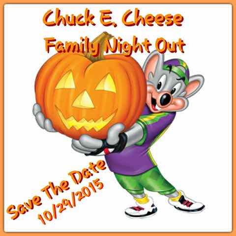 Fright Family Night @ Chuck E. Cheese