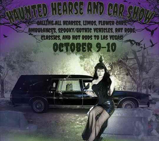 Haunted Hearse and Car Show