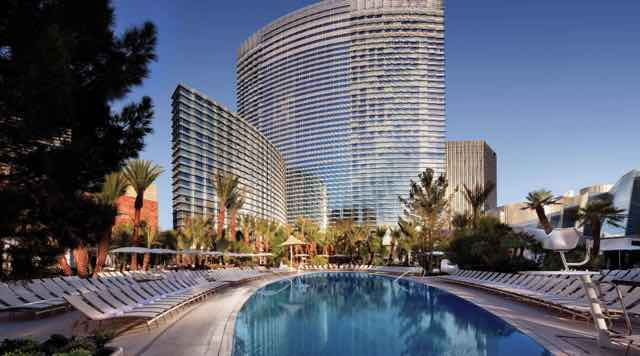 The Aria Pool