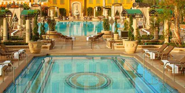 The Pool at Palazzo and Venetian